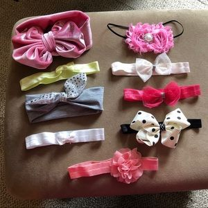 Other - 3/$15 SALE Various assortment of baby girl bows